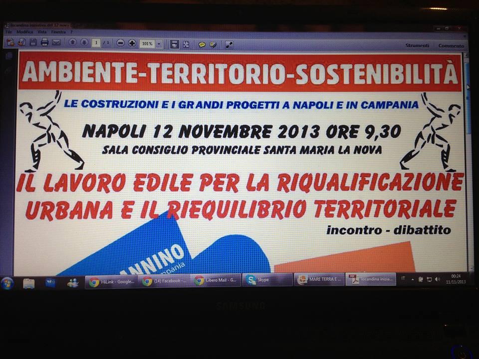 Campania, edilizia: ecco come uscire dalla crisi, convegno Cgil