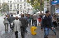 Vomero, Flash Mob dei pulitoni