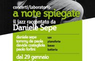 Napoli: dal 29 gennaio jazz raccontato da Daniele Sepe