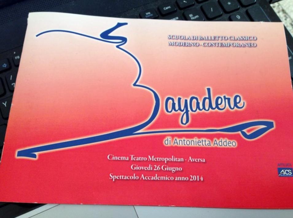 Aversa: Bayadere, eccellente scuola di danza.