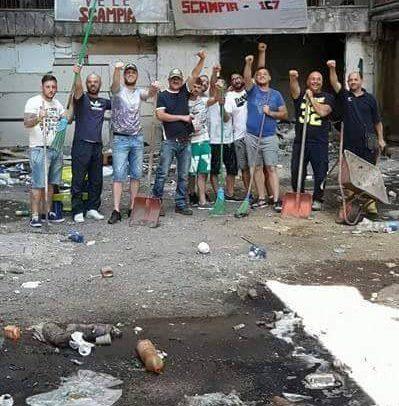 A Scampia lo 'sciopero alla rovescia' dei disoccupati