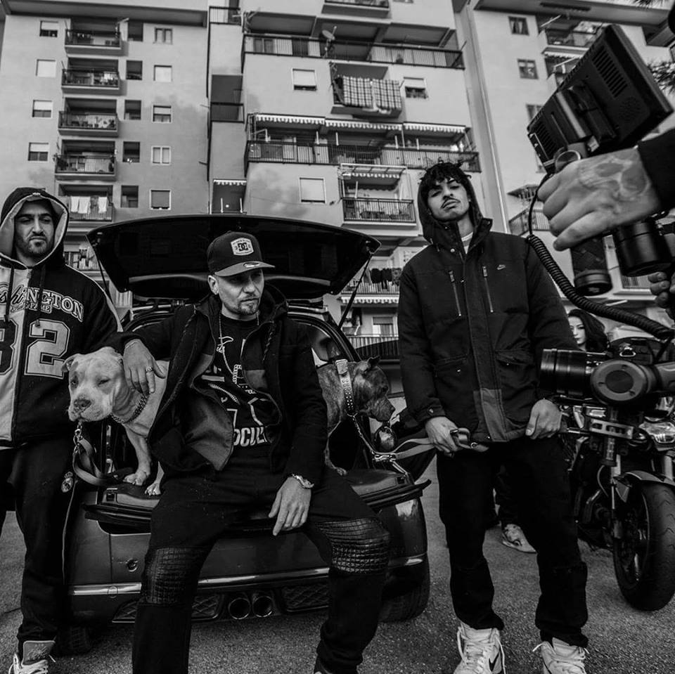 PUSHER come in GOMORRA con il rapper PATTO