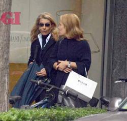 Giulia Ligresti, fotografata mentre fa shopping