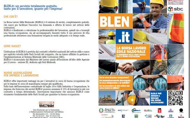 Le domande e le offerte di lavoro nel settore edile. Un Focus al Cfs