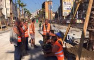 Napoli, Operai senza stipendi, si fermano di nuovo i lavori in Via Marina